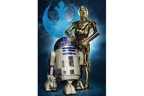 RAVENSBURGER Puzzle  19682 Star Wars: R2-D2 a C-3PO 1000 dílků Puzzle