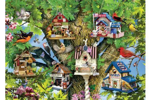 RAVENSBURGER Puzzle Ptačí vesnice 1000 dílků Puzzle
