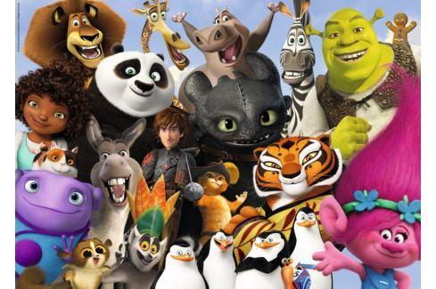 RAVENSBURGER Puzzle  19693 DreamWorks rodina 1000 dílků Puzzle