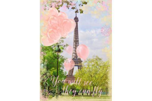 RAVENSBURGER Puzzle Snění u Eiffelovy věže 1000 dílků Puzzle