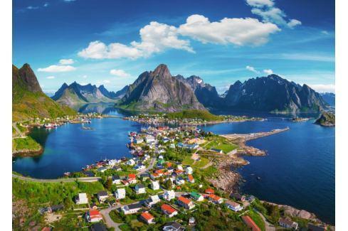 RAVENSBURGER Puzzle Lofoty, Norsko 1000 dílků Puzzle