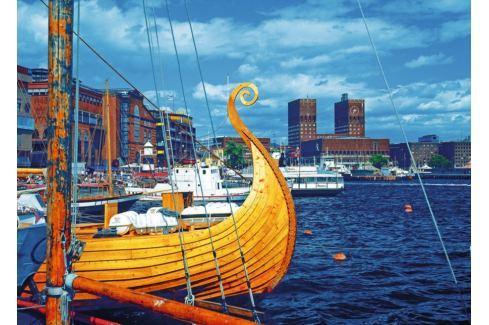 RAVENSBURGER Puzzle Oslo, Norsko 1000 dílků Puzzle