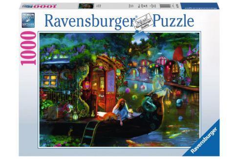 RAVENSBURGER Puzzle Zátoka poutníků 1000 dílků Puzzle