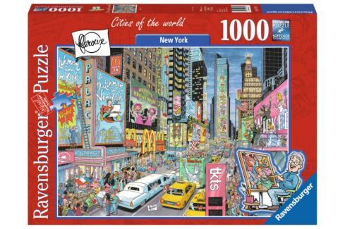 RAVENSBURGER Puzzle New York, USA 1000 dílků Puzzle