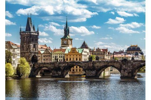 RAVENSBURGER Puzzle  19742 Pohled na Karlův most, Praha 1000 dílků Puzzle