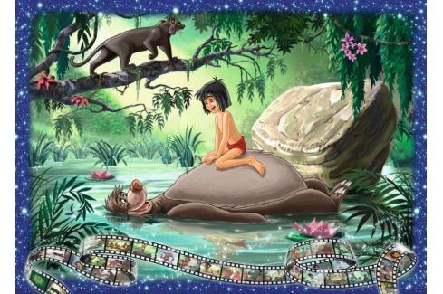 RAVENSBURGER Puzzle Kniha džunglí 1000 dílků Puzzle
