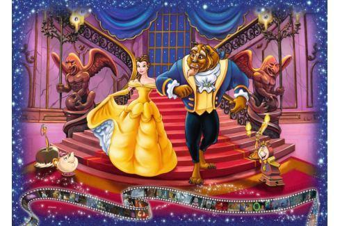 RAVENSBURGER Puzzle Kráska a zvíře 1000 dílků Puzzle