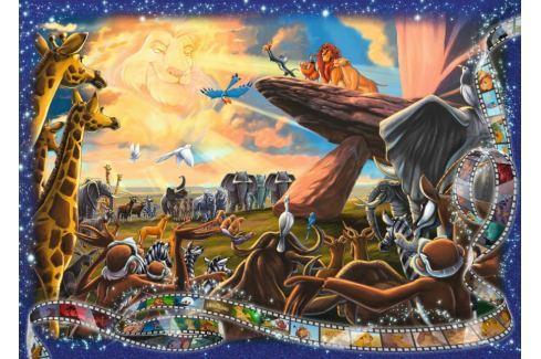 RAVENSBURGER Puzzle Lví král 1000 dílků Puzzle