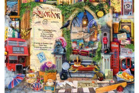 RAVENSBURGER Puzzle Vzpomínky na Londýn 1000 dílků Puzzle
