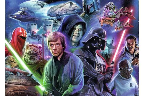 RAVENSBURGER Puzzle Star Wars: Návrat Jediů 1000 dílků Puzzle