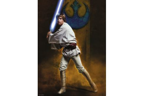 RAVENSBURGER Puzzle Star Wars: Luke Skywalker 1000 dílků Puzzle