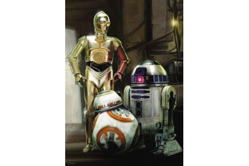 RAVENSBURGER Puzzle Star Wars: C3PO, R2-D2 a BB-8 1000 dílků Puzzle