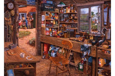 RAVENSBURGER Puzzle Dědečkova kůlna 1000 dílků Puzzle