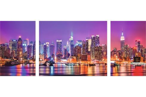 RAVENSBURGER Puzzle Triptych: New York, USA 1000 dílků Puzzle