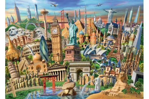 RAVENSBURGER Puzzle Světové památky 1000 dílků Puzzle