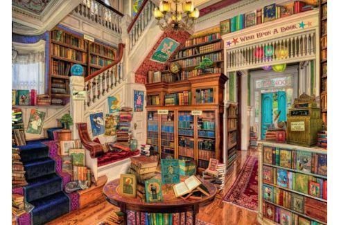 RAVENSBURGER Puzzle Fantastické knihkupectví 1000 dílků Puzzle