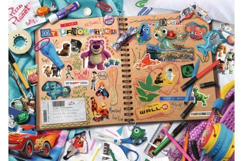 RAVENSBURGER Puzzle Skicák Disney Pixar 1000 dílků Puzzle