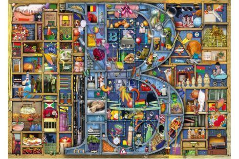 RAVENSBURGER Puzzle Úžasná abeceda - písmeno B 1000 dílků Puzzle