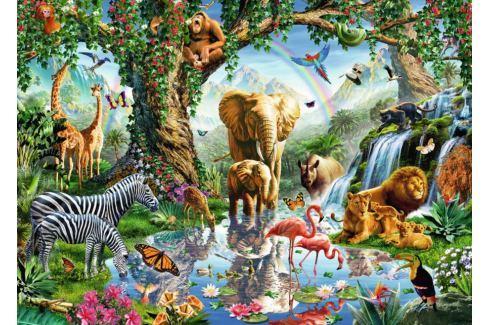 RAVENSBURGER Puzzle Dobrodružství v džungli 1000 dílků Puzzle