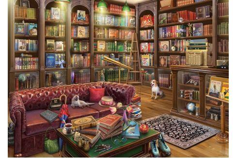 RAVENSBURGER Puzzle Knihovna 1000 dílků Puzzle