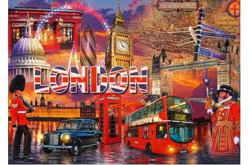 RAVENSBURGER Puzzle Londýnské památky 1000 dílků Puzzle