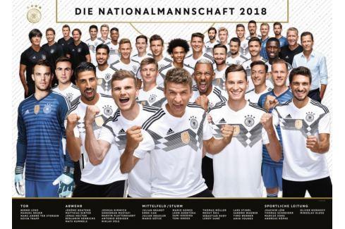 RAVENSBURGER Puzzle Národní fotbalový tým Německa 2018, 1000 dílků Puzzle