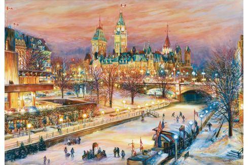 RAVENSBURGER Puzzle Zimní festival v Ottawě 1000 dílků Puzzle