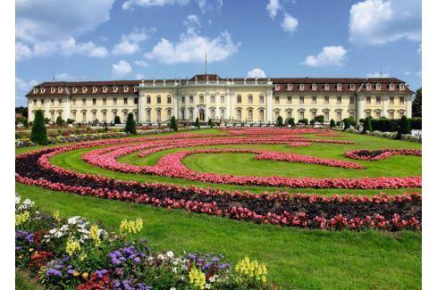 RAVENSBURGER Puzzle Zámek v Ludwigsburgu, Německo 1000 dílků Puzzle