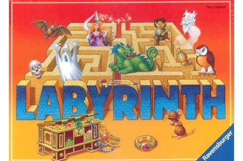 RAVENSBURGER Společenská hra Labyrint: Bláznivé bludiště, Stolní hry