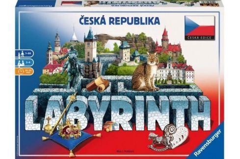RAVENSBURGER Společenská hra Labyrint Česká republika, Stolní hry