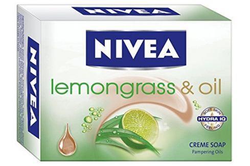 Nivea Krémové tuhé mýdlo Lemon Grass (Creme Soap) 100 g Přípravky pro péči o ruce a nehty