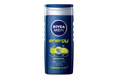 Nivea Sprchový gel pro muže Energy Šampony