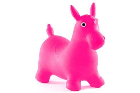 JOHN Hopsadlo Ponny neonové (růžové) hopsadla
