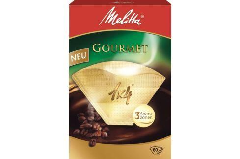 Melitta Filtr do kávovarů  1x4/80 GOURMET-hnědá káva a kapsle