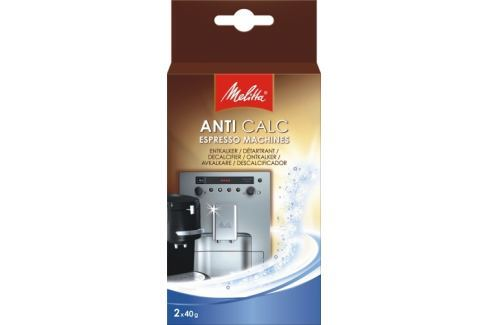 Melitta Odvápňovač  Anti calc Espresso 2x40g Produkty