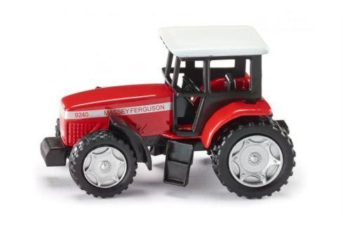 SIKU Kovový model -  Blister - Traktor Massey Ferguson Auta, letadla, lodě