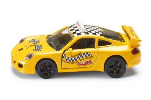 SIKU Kovový model auta -  Blister - Porsche autoškola auta