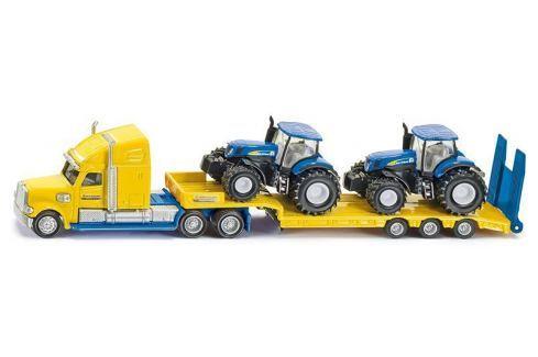 SIKU Super - Tahač s vlekem a 2 traktory New Holland 1:87 Auta, letadla, lodě