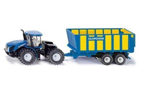 SIKU Farmer - Traktor New Holland s přívěsem Joskin, 1:50 Auta, letadla, lodě