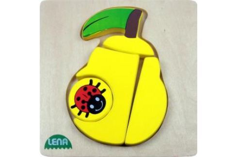 LENA - Dřevěné puzzle - Hruška Puzzle