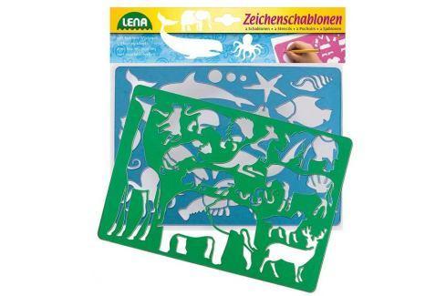 Kreslící šablony (Afrika, oceán) Sady školních pomůcek