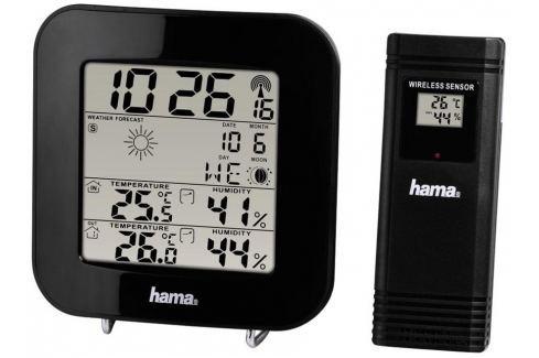 Hama EWS-200 meteostanice, černá Meteostanice