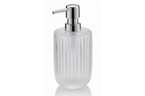 KELA Dávkovač na mýdlo LAMINA akrylové sklo doplňky