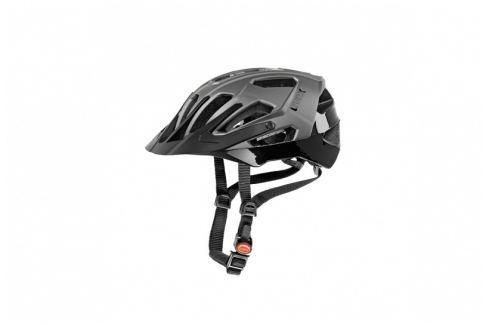 UVEX Přilba  Quatro::53-57; černá/stříbná Cyklistické helmy
