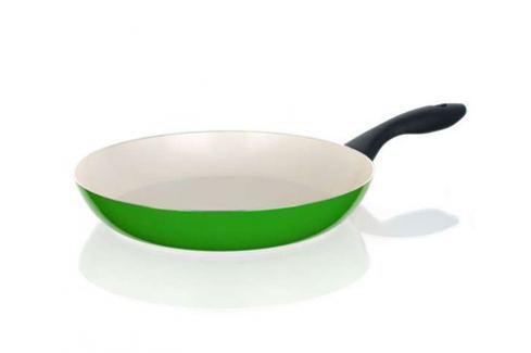 BANQUET Pánev s keramickým povrchem NATURA CERAMIA Verde 28 cm, zelená Produkty