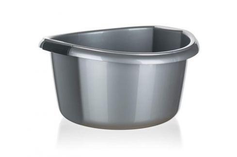 BRILANZ Umyvadlo plastové 20 l, stříbrné Produkty
