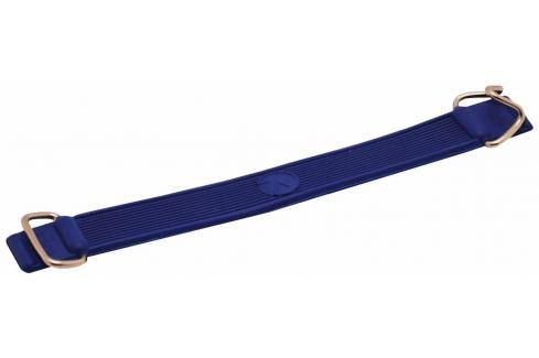 Rulyt Pásek na lyže gumový s kovovými háčky, modrý Vosky na běžky