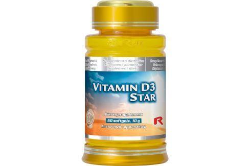 Starlife Vitamin D3 Star 60 sfg Produkty