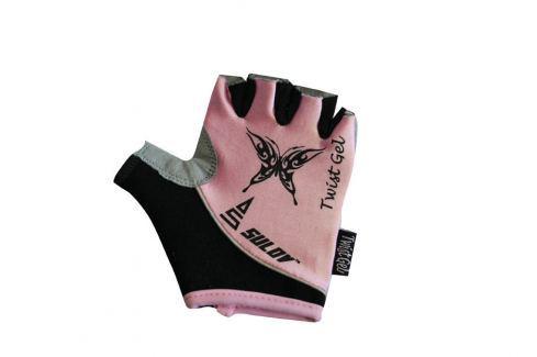 Sulov Cyklorukavice   TWIST GEL, růžové::M Cyklistické rukavice