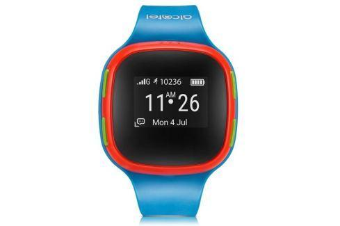 Alcatel Chytré hodinky  MOVETIME Track&Talk Watch - červené/modré wearables